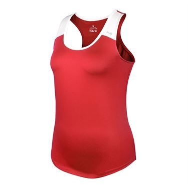 DUC Team Racer Tank Womens Red W2001 RD