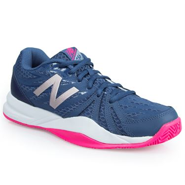 New Balance WC786VI2 (B) Womens Tennis Shoe - Navy/Pink