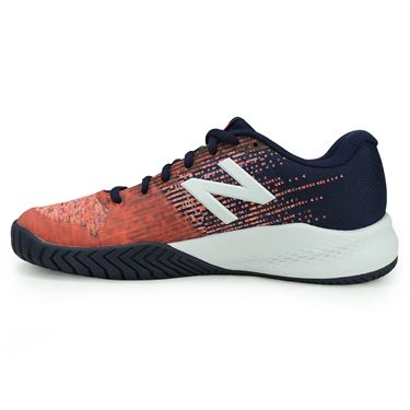 New Balance WC996VL3(D) Womens Tennis Shoe - Vivid Tangerine/Alpha Pink
