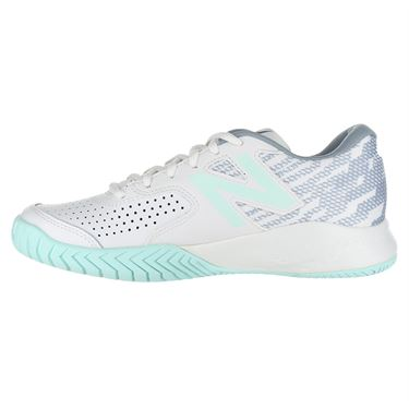 New Balance WCH696E3 (D) Womens Tennis Shoe - White/Light Reef