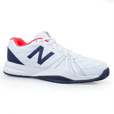 New Balance WCH786C2 (D) Womens Tennis Shoe - Vivid Coral/White