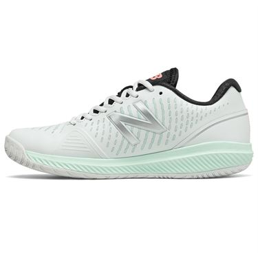 New Balance 796v2 (D) Womens Tennis Shoe - White/Mint