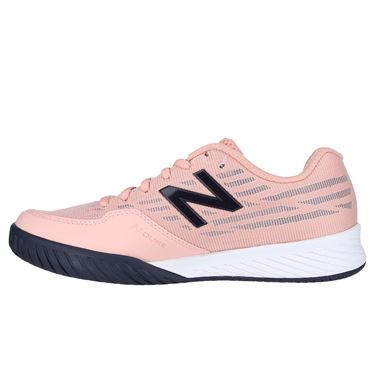 02b83f8be479 ... New Balance WC 896 (D) Womens Tennis Shoe - White Peach Pigment
