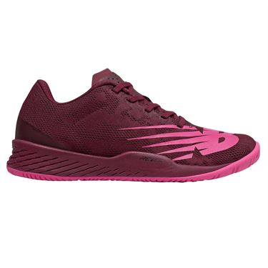 New Balance WC 896 (D) Womens Tennis Shoe - Peony/Vivid Coral