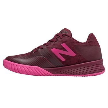 New Balance WC 896 (B) Womens Tennis Shoe - Peony/Vivid Coral