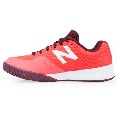 New Balance WCH896V2 (B) Womens Tennis Shoe - Vivid Coral