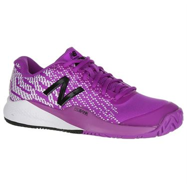 New Balance 996 (D) Womens Tennis Shoe - Voltage Violet/White