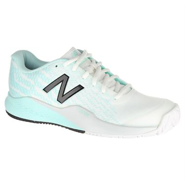 New Balance WCH996K3 (B) Womens Tennis Shoe - White/Mint/Black