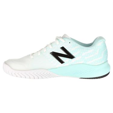 New Balance WCH996K3 (D) Womens Tennis Shoe - White/Mint/Black