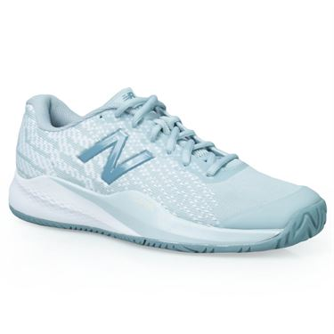New Balance WCH996 (D) Womens Tennis Shoe - Grey/White