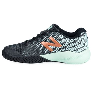 New Balance WCH996M3 (B) Womens Tennis Shoe - Black/Turquoise
