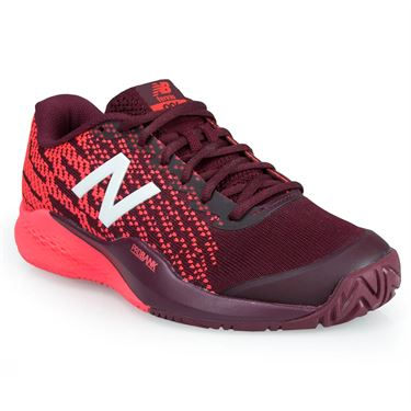 New Balance WCH996O3 (D) Womens Tennis Shoe - Maroon/Pink