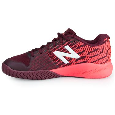 New Balance WCH996O3 (B) Womens Tennis Shoe - Maroon/Pink
