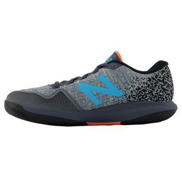New Balance 996v4 (D) Womens Tennis Shoe - White/Grey/Blue