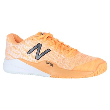 New Balance WCH996P3 (D) Womens Tennis Shoe - Light Mango/White