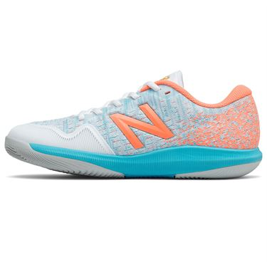 New Balance 996v4 (D) Womens Tennis Shoe - Orange/Blue