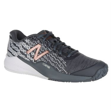 New Balance WCH996Q3 (D) Womens Tennis Shoe - Black/Champagne