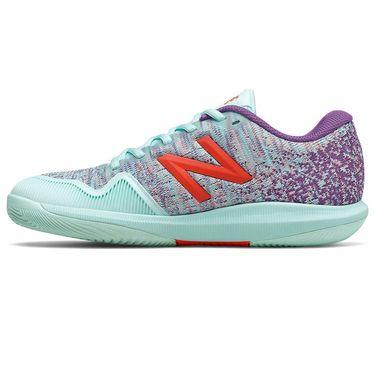 New Balance 996v4 (D) Womens Tennis Shoe - Light Blue/Purple