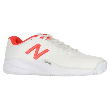 New Balance WCH996Z3 (B) Womens Tennis Shoe - White/Red