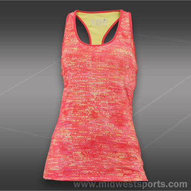 New Balance Racerback Tank-Watermelon
