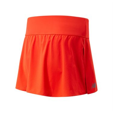 New Balance Woven Tournament Skirt Womens Neo Flame WK01437 NEF