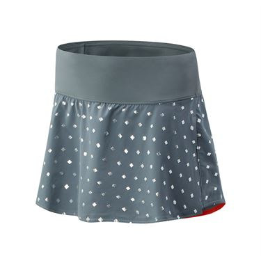 New Balance Printed Tournament Skirt Womens Lead WK03438 LED