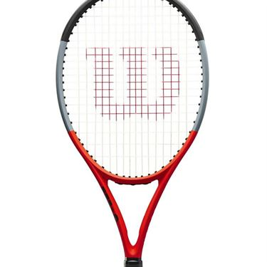 Wilson Clash 100 Reverse Tennis Racquet Red/Black WR005631U