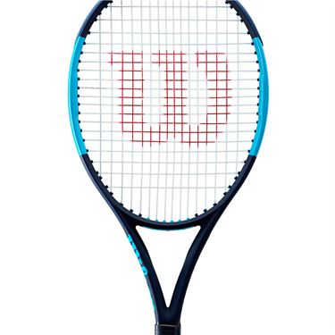 Wilson Ultra 100 V2 Tennis Racquet Black/Blue WR057011U