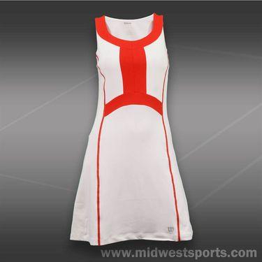 Wilson Ashland Colorblock Dress -White/Wilson Red