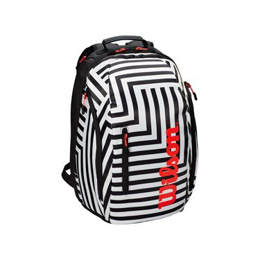 WIlson Super Tour Bold Backpack - Black/White