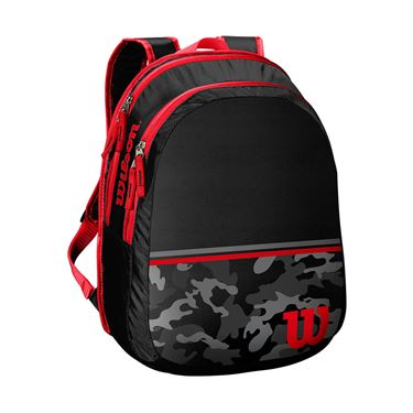 Wilson Junior Black/Camo Tennis Backpack