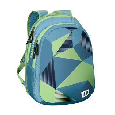 Wilson Junior Blue/Green Tennis Backpack