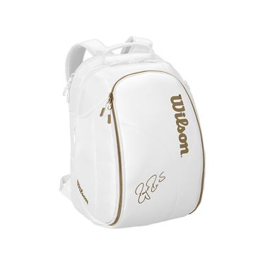 Wilson Federer DNA Backpack - White/Gold