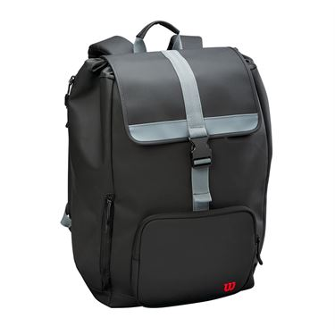 Wilson Clash Tennis Backpack - Black/Silver