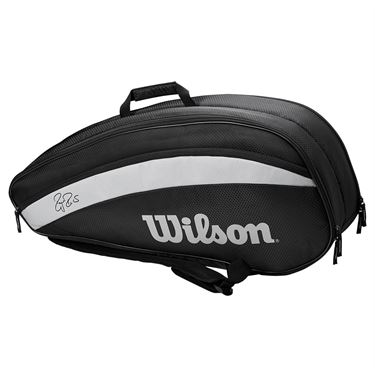 Wilson RF Team 6 Pack Tennis Bag - Black