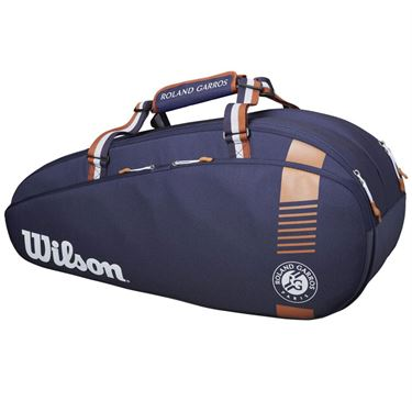 Wilson Roland Garros Team 6 Pack Tennis Bag - Navy/RedClay