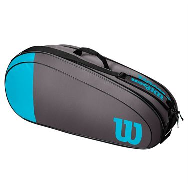 Wilson Team 6 Pack Tennis Bag - Blue/Grey