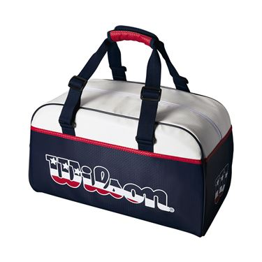 Wilson Stars & Stripes Duffel Tennis Bag - Red/White
