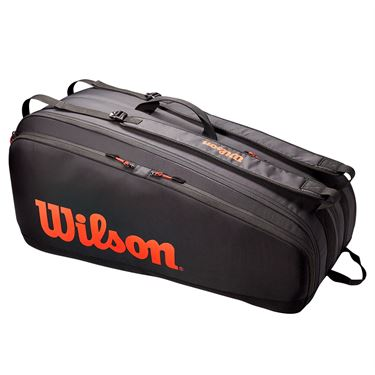 Wilson Tour 12 Pack Tennis Bag - Red/Black