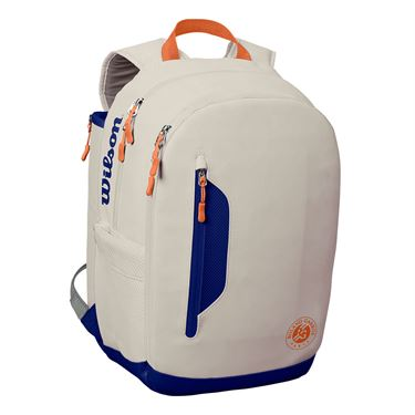 Wilson Roland Garros Tour Tennis Backpack - Oyster/Navy
