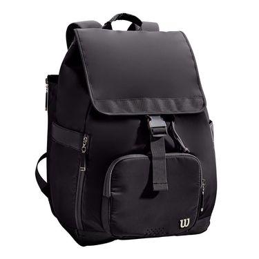 Wilson Fold Over Womens Tennis Backpack - Black
