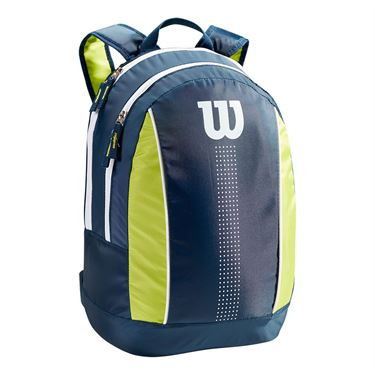 Wilson Junior Backpack - Navy/Lime Green/White