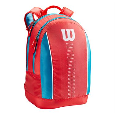 Wilson Junior Backpack - Coral/Blue/White