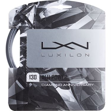 Luxilon ALU Power 1.30 Silver Tennis String