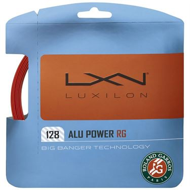 Luxilon ALU Power Garros 16L Tennis String - Red Clay