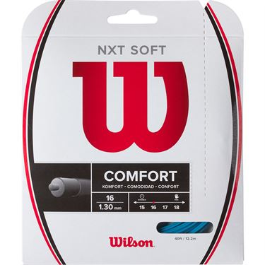 Wilson NXT Soft 16G Blue Tennis String