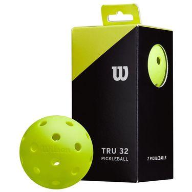 Wilson Tru 32 Pickleballs - 2 Pack