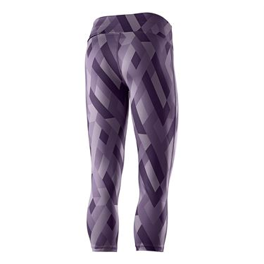 Wilson US Open Printed Tight - Purple Dusk