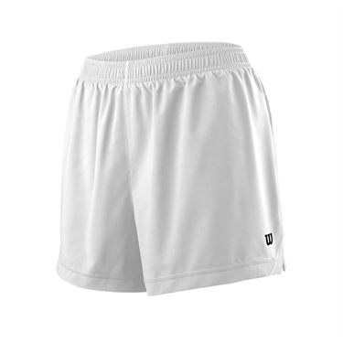 Wilson Team 3.5 Short Womens White WRA766301