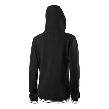 Wilson US Open Team Script Full Zip Hoody - Black/White